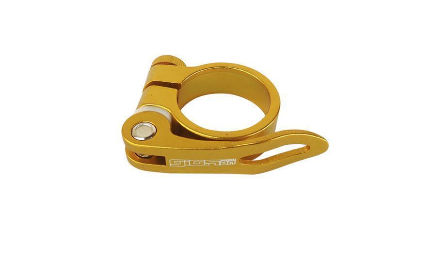 Braçadeira Giosbr Alumínio Modelo GI-101 34.9mm Dourado
