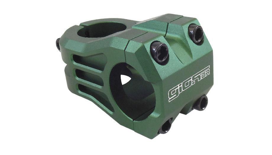 Suporte Guidão Giosbr Alumínio CNC Modelo RAPTOR-1 Ahead Over Para Guidão 31.8mm Verde