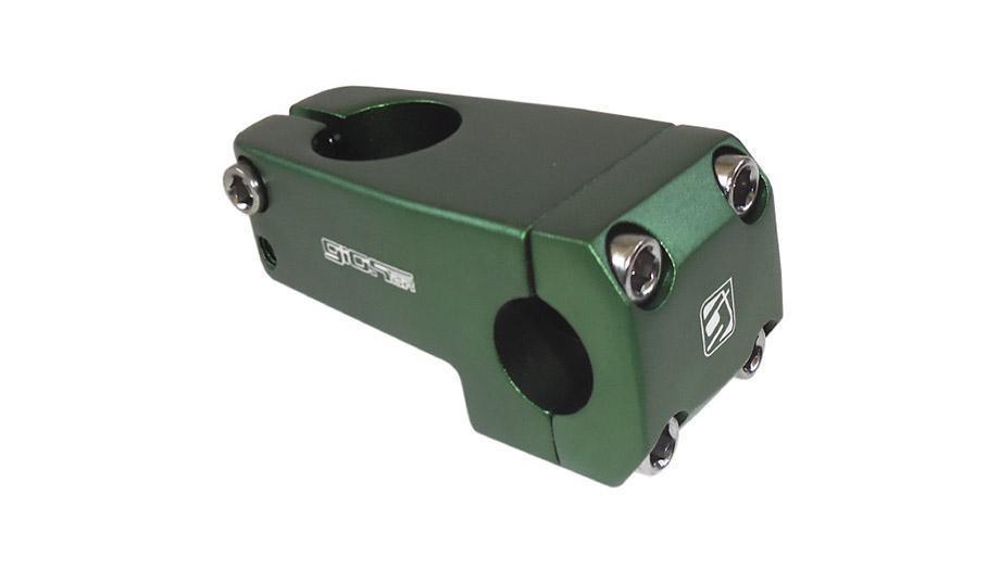 Suporte Guidão Giosbr BMX MF-955 52mm Para Guidão Diâmetro 22.2mm Verde